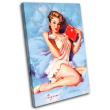 Vintage Girl Retro Pin-ups - 13-2074(00B)-SG32-PO